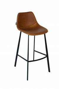 franky bar stool brown