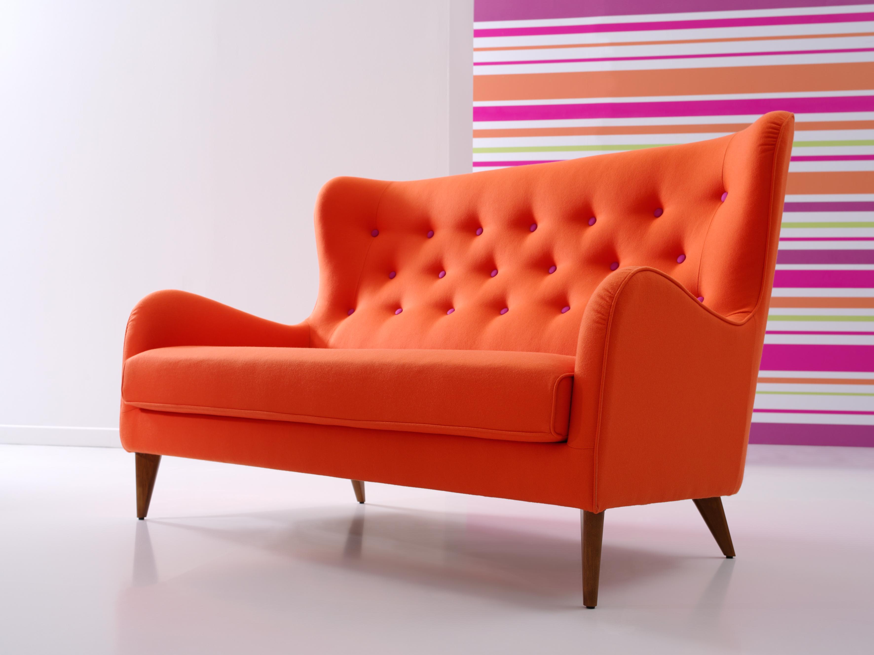Orange retro sofa okaycreations orange retro sofa okaycreations net parisarafo Choice Image