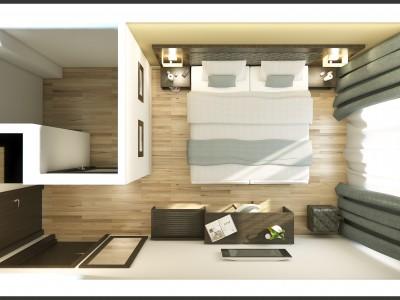 Custom made hospitality furniture