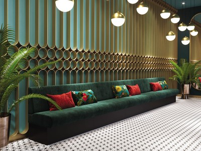 LOUNGE AND BENCHES
