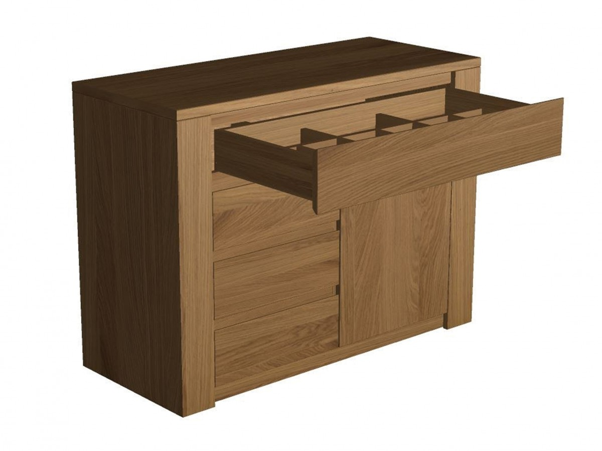 Cutlery Cabinet 1 - VARIOUS - Custom made hospitality furniture