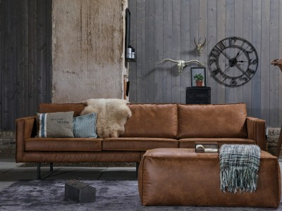 West sofa 3 seater leather