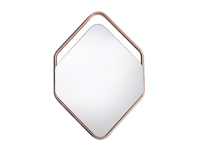 Mirror Hexagon Frame