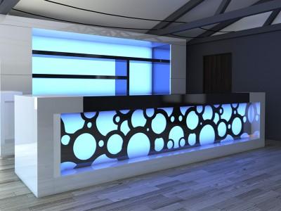 12- Led lights bar